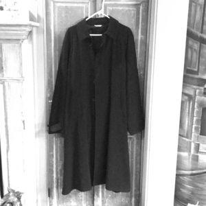 Armani Collezione trench coat, black, size 40 IT